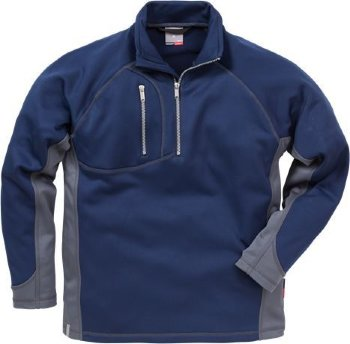 Sweatshirt Zip-Neck 7452 PFKN