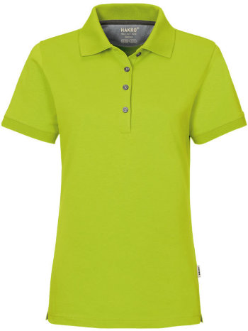 HAKRO Damen Polo 214 Cotton-Tec, kiwi
