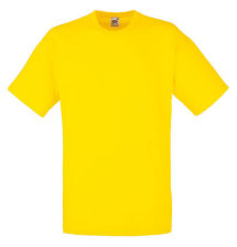 Fruit of the Loom T-Shirt Value Weight, gelb