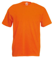 Fruit of the Loom T-Shirt Value Weight, orange