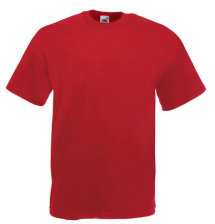 Fruit of the Loom T-Shirt Value Weight, dunkelrot