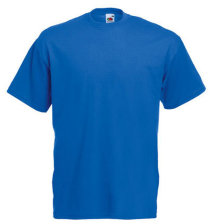 Fruit of the Loom T-Shirt Value Weight, royal