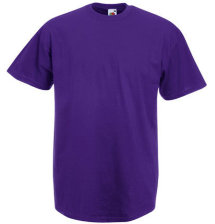Fruit of the Loom T-Shirt Value Weight, violett