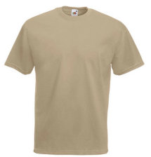 Fruit of the Loom T-Shirt Value Weight, khaki