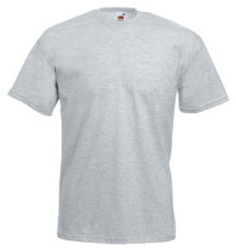 Fruit of the Loom T-Shirt Value Weight, graumeliert