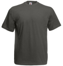 Fruit of the Loom T-Shirt Value Weight, graphit