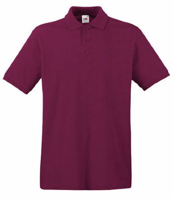 Fruit of the Loom Polo Premium, burgund