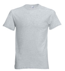 Fruit of the Loom Original T-Shirt, grau meliert
