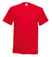 Fruit of the Loom Original T-Shirt, rot