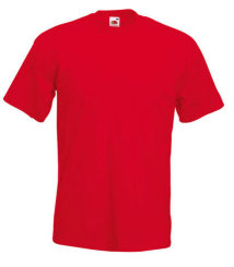 Fruit of the Loom T-Shirt Super Premium, rot