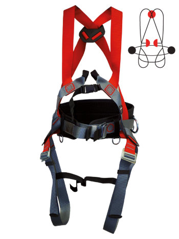 CAMP Safety Auffang- und Haltegurt DUO PLUS