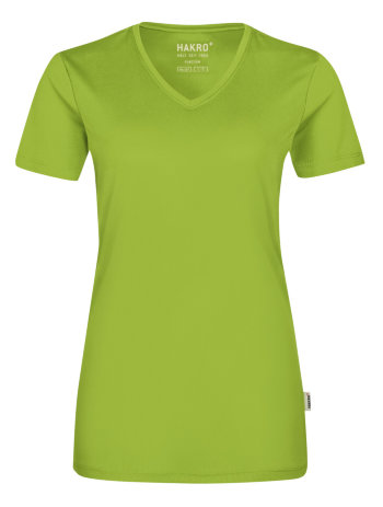 HAKRO Damen V-Shirt Coolmax 187