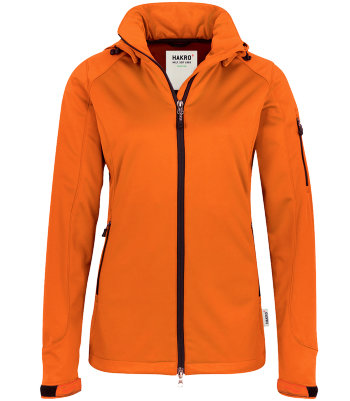 HAKRO Damen Softshelljacke 248 Alberta orange